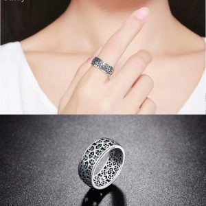 Sterling Silver Cute Promise Ring for Women