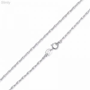 Sterling Silver Necklace Thin Chain for Women 1