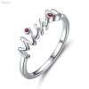Sterling Silver Miss You Ring for women